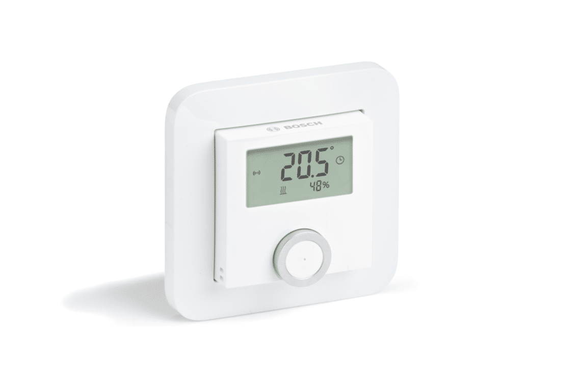 picture of a room thermostat for underfloor heating