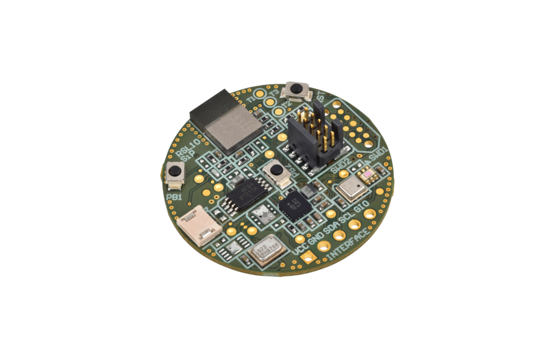 picture of a RSL10 sensor development kit
