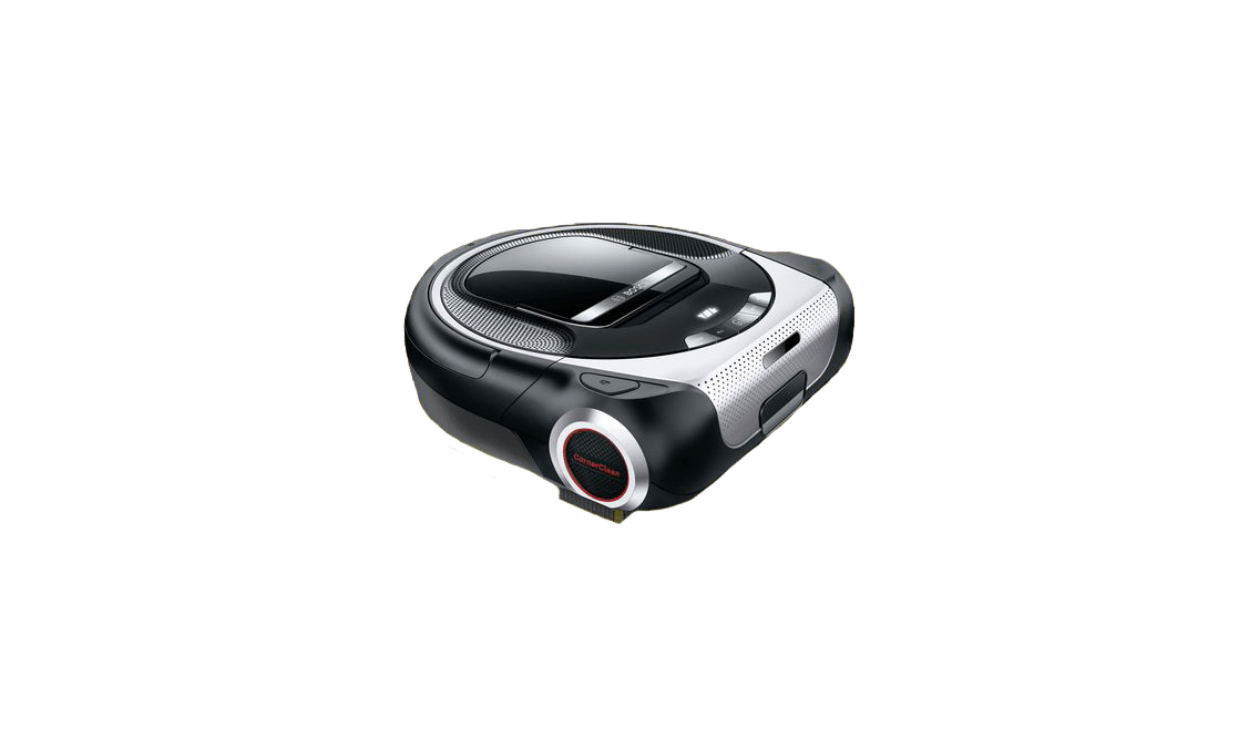 Image of a Bosch cleaning robot with Home Connect.