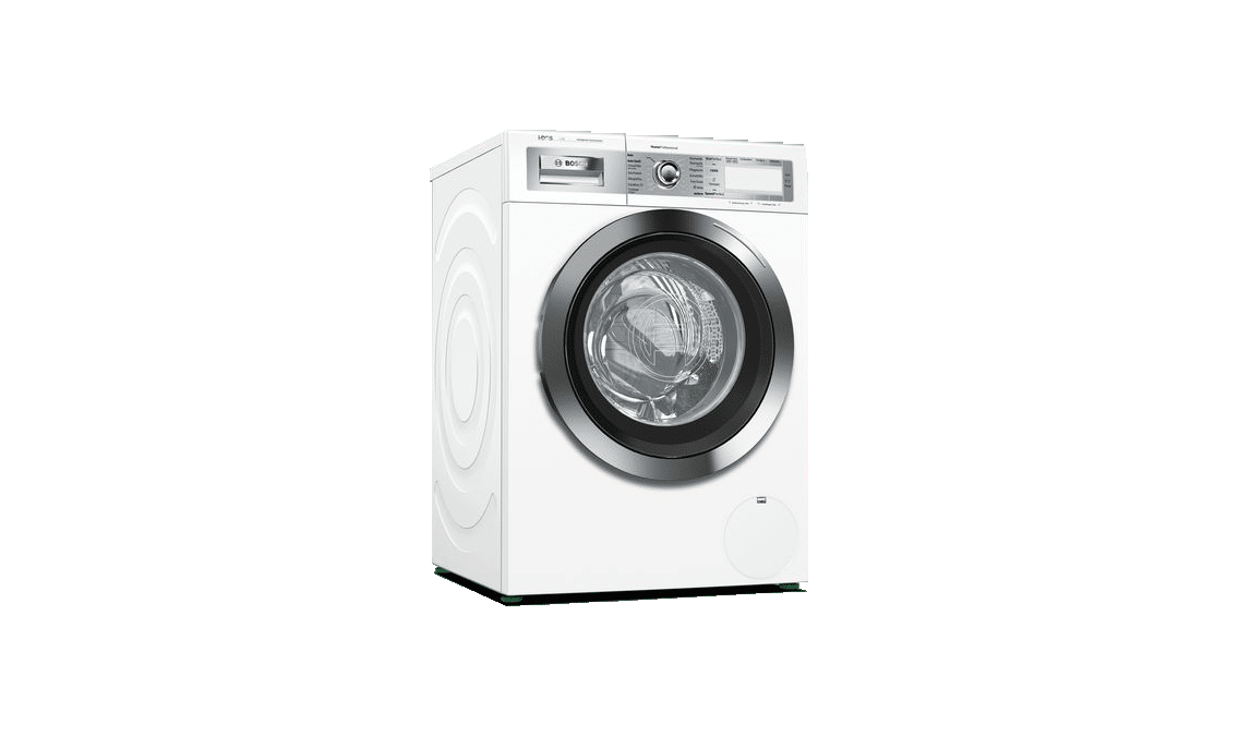 Image of a Bosch washing machine with Home Connect.