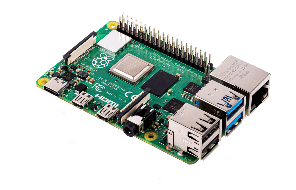 Image of the Raspberry Pi.
