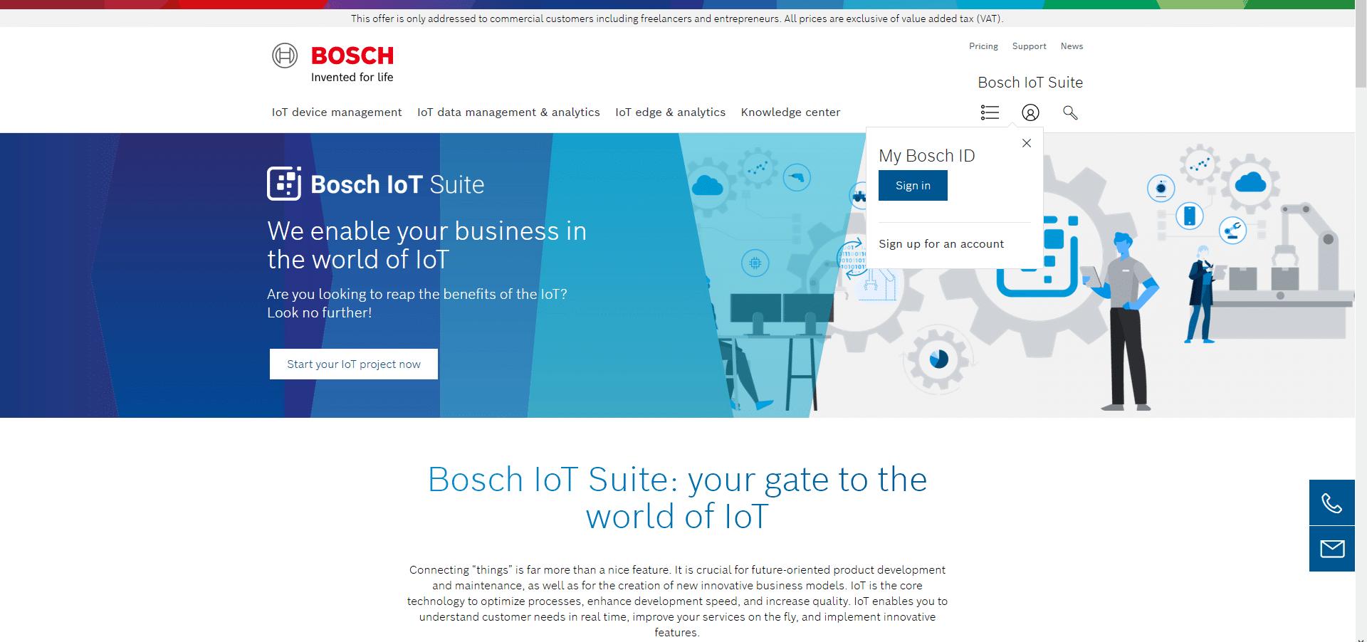 bosch-iot-suite-homepage