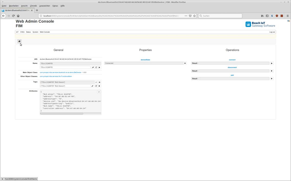 Screenshot of the Transport Data Logger dashboard.