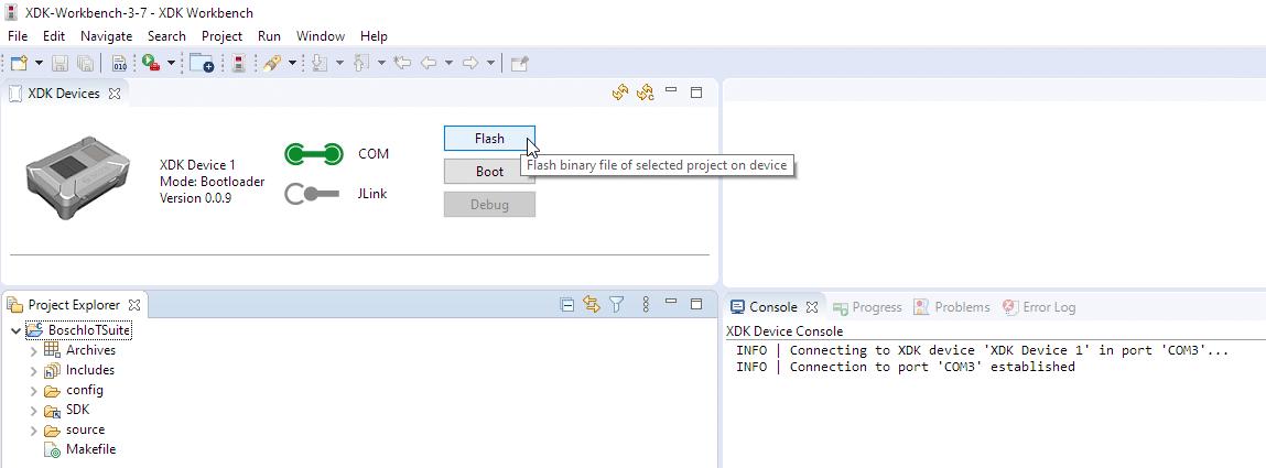 XDK workbench 3.7